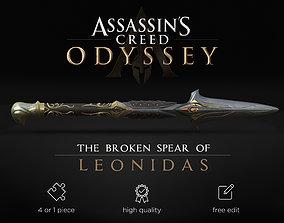 3D print model Broken Spear of Leonidas