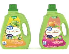 Great Value Ultimate Fresh Laundry Detergent 3D