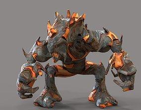 Magma Monster 3D model