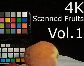 3D asset 4K Scanned Fruits Vol 1