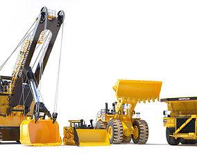Mining Machines 3 3D model