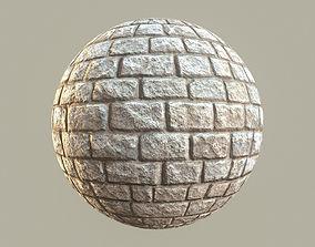 3D asset Stone Block Ground