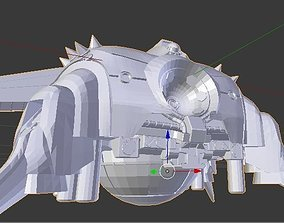Mobile Armor - Apsalus 3D Model mobilearmor