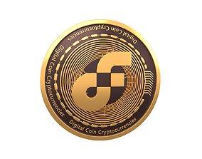3D model Flow Coin v3 001
