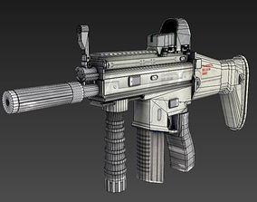 3D asset realtime FN SCAR - H