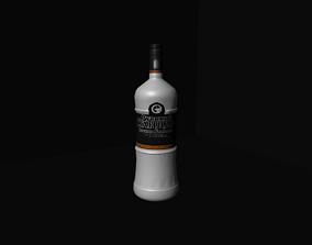 Russian Standard Vodka Bottle 3D model