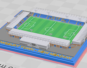 Shrewsbury Town - New Meadow 3D print model