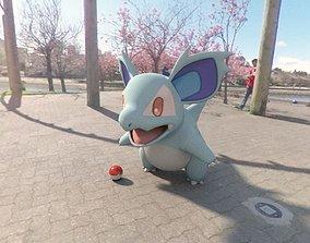 3D model Pokemon Nidorina