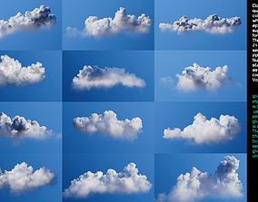 VDB Clouds Volume 3 - Cumulonimbus 3D model