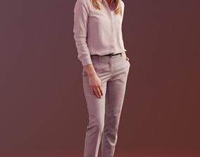 3D model Ramona 10039 - Business Standing Woman