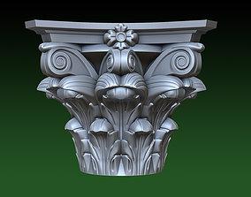 Small capitals 3D print model