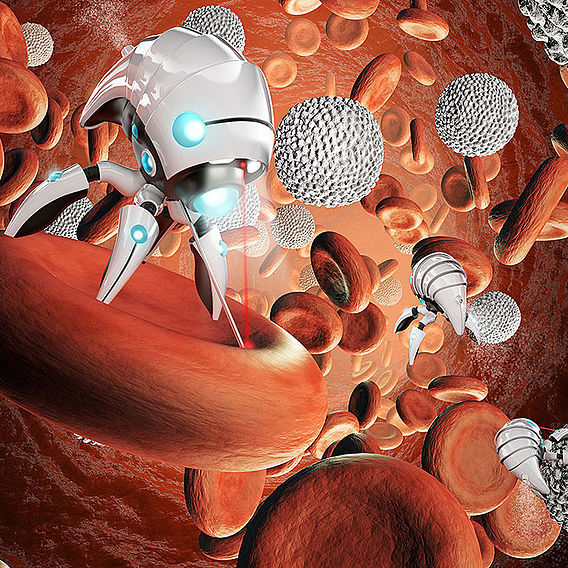 Nanobot surgery