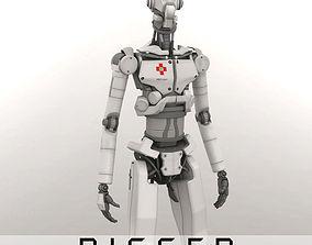 3D Med Bot Rigged