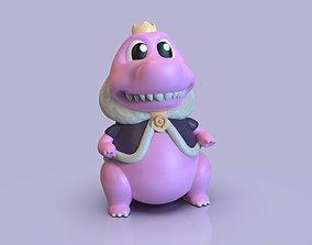 Adorable zilla 3D print model