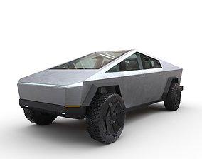 Tesla Cybertruck Prototype 3D model