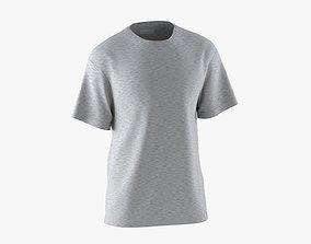 T-Shirt Grey 3D model