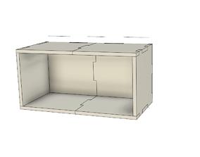 HobbyZone Storage Hutch Module 3D print model