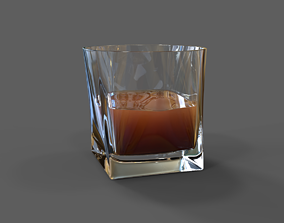 Whiskey Glass 3D