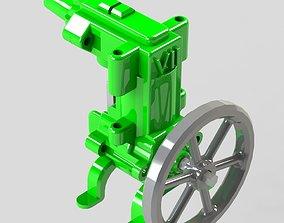 model Compressed Air engine V2 WORKING Model