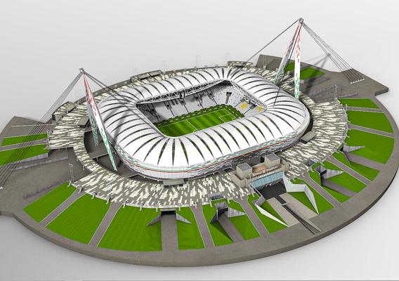 Allianz Stadium Juventus 3D