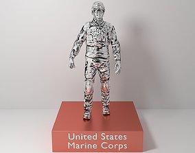 3D model USMC Trophy