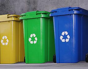 Recycle Bin recycling-bin 3D model