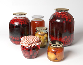 3D model Fruit compote