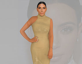 Kim Kardashian ready for full color 3D