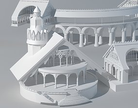 Lord of the rings architecture 3D