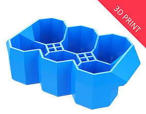 Crate Unity 04 for 6 Cans 350ml 3D printable model