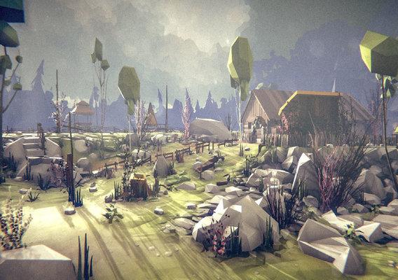 Slavic Village - Hut on the Rock Hill