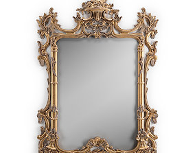 Chippendale Style Mirror 3D