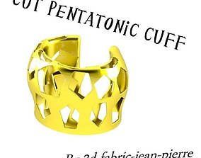 PENTAGON CUTTING CUFF 3D printable model