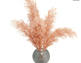 3D model Pampas Grass Bouquet 02