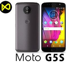 3D model Motorola Moto G5S Gray