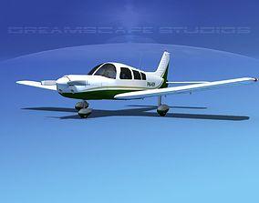 3D model Piper PA-28 V10