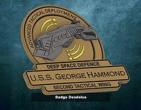 badges 3D printable model Badge Deadalus
