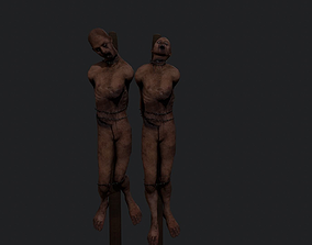 3D asset TORTURED corpses Horror theme