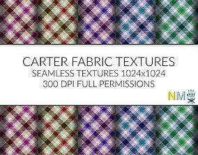 3D model Carter Seamless Textures Set