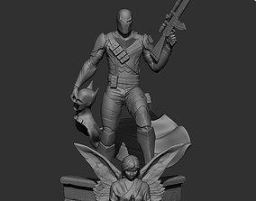 3D print model Deathstroke Fan Art