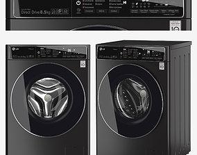 washing machine LG F2T9GW9P 3D model