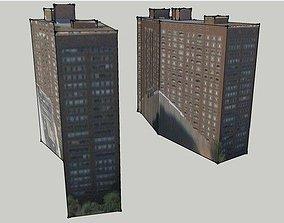 3D asset Building along Lakeshore Drive Chicago