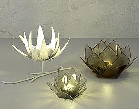Tealight Holders by ZARA HOME 3D model