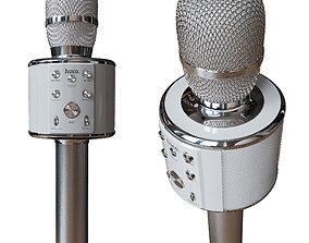 Hoco BK3 bluetooth karaoke microphone 3D