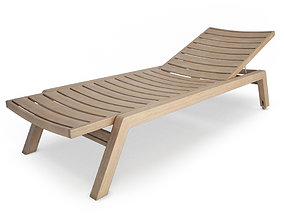 3D Costes Wooden Deck Chair
