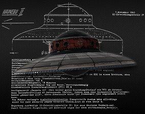Haunebu II 3D asset