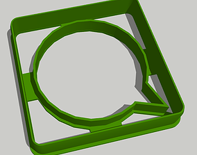 3D print model Whatsapp - Cookie Cutter