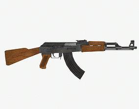 Kalashnikov AK-47 Assault Rifle 3D model