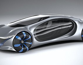 Mercedes Benz Vision Avtr Concept 2020 3D