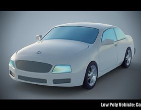 Low Poly Vehicle - Car 3D asset